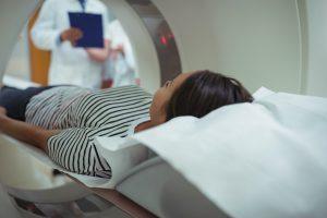 exame de imagem para diagnóstico do cálculo renal